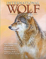 International Wolf Magazine - Fall 2013