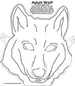 Adult Wolf Mask
