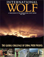International Wolf Magazine - Fall 2001
