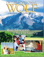International Wolf Magazine - Fall 2004