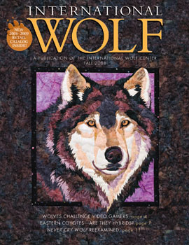 International Wolf Magazine - Fall 2008