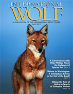 International Wolf Magazine - Fall 2011