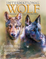 International Wolf Magazine - Fall 2012