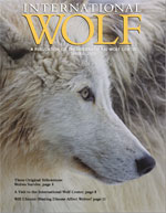 International Wolf Magazine - Spring 2003