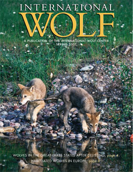 International Wolf Magazine - Spring 2007