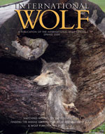 International Wolf Magazine - Spring 2009