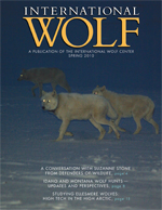 International Wolf Magazine - Spring 2010