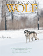 International Wolf Magazine - Spring 2011