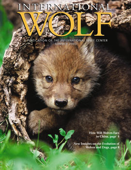 International Wolf Magazine - Summer 2003