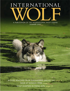 International Wolf Magazine - Summer 2007