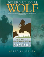 International Wolf Magazine - Summer 2008