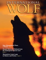 International Wolf Magazine - Summer 2011