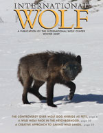 International Wolf Magazine - Winter 2009