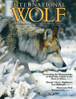 International Wolf Magazine - Winter 2011